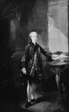 Portræt af Christian VII som kronprins