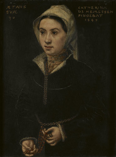 Portrait of a 30-year-old Woman
