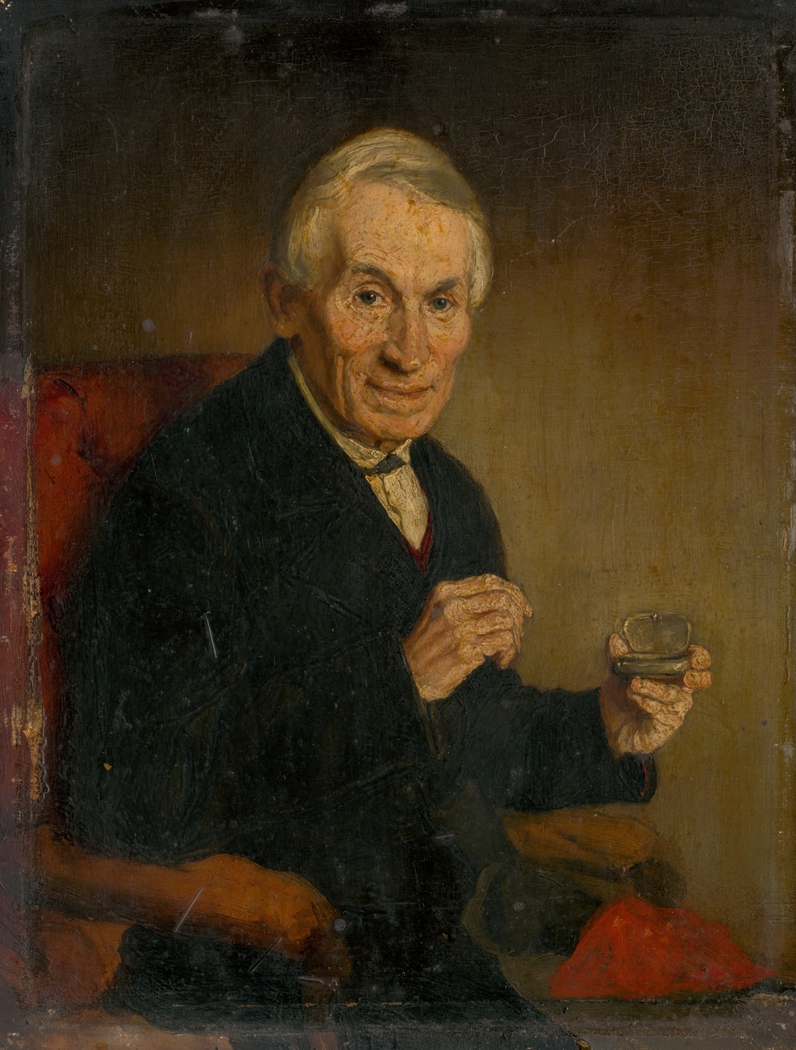 Portrait of a Gentleman with Tobacco Tin