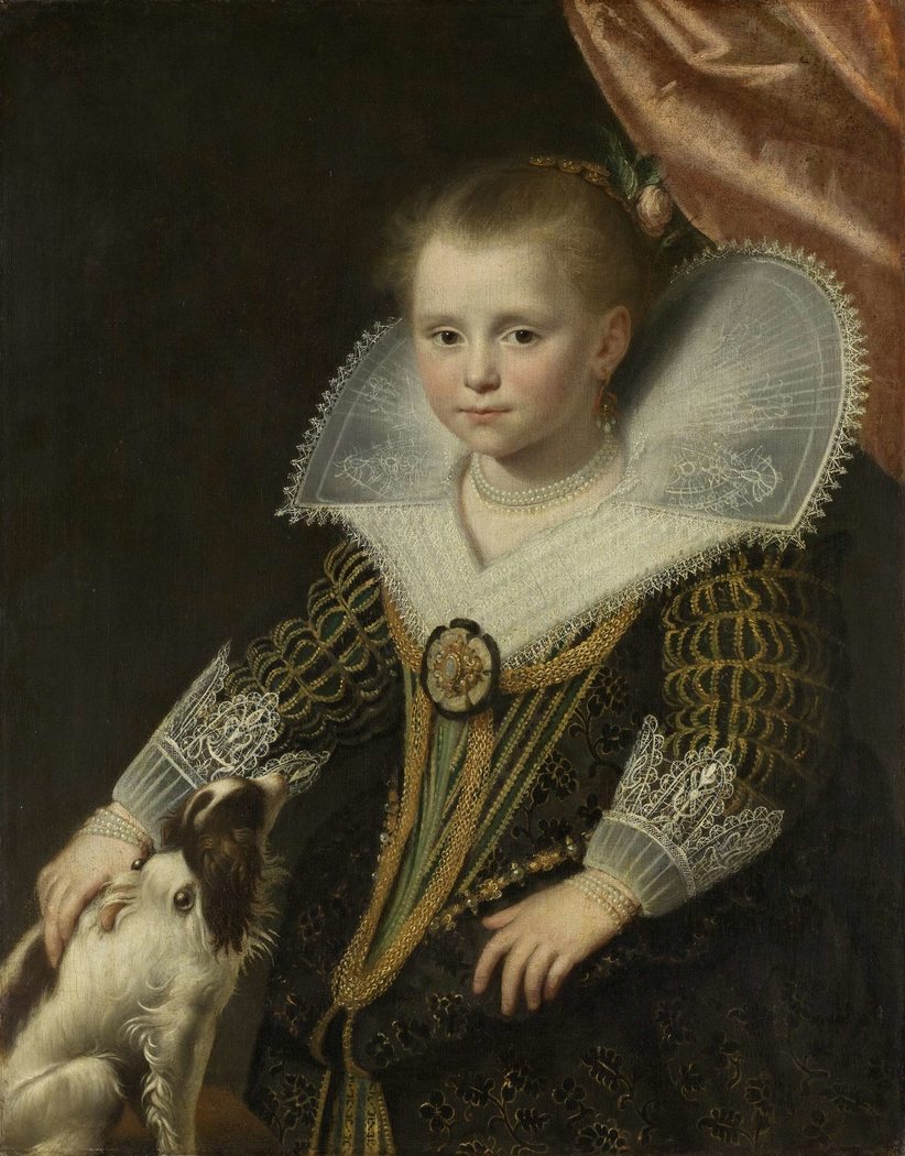 Portrait of a girl, known as 'The Little Princess'