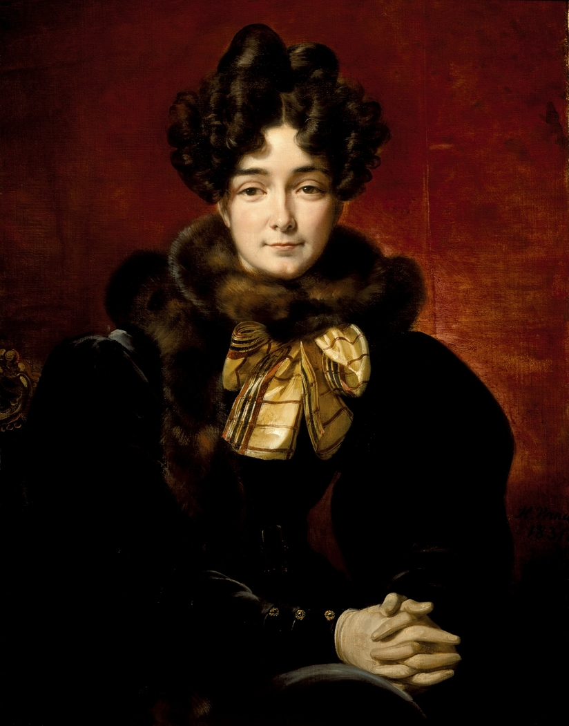 Portrait of a Lady (Possibly Mrs. Patrick Campbell, Neé Fitzgerald [1796-1869])