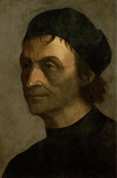 Portrait of a priest of the papal court