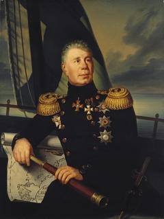 """""""Portrait of Admiral Krusenshtern """""""