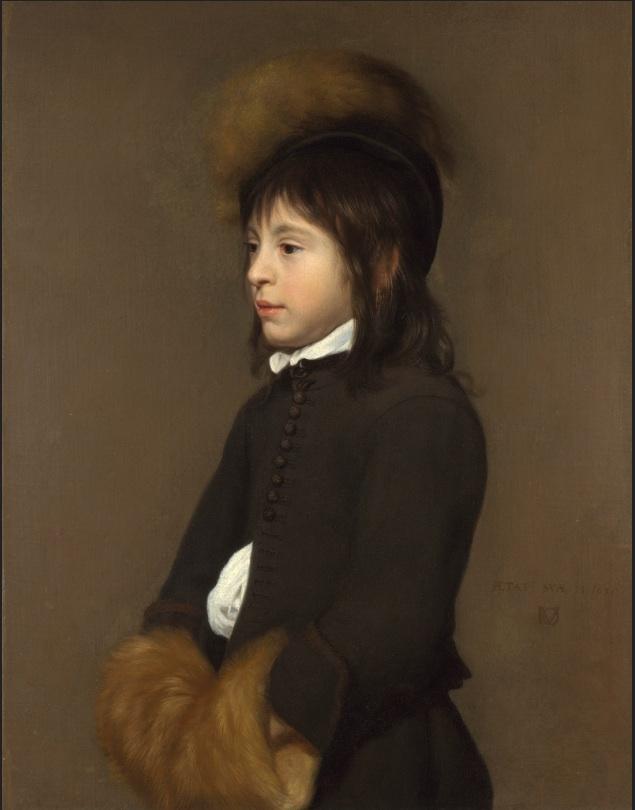 Portrait of a Boy aged 11