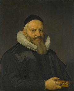 Portrait of Anthony de Wale (1573-1639). Professor of Theology at the University in Leiden