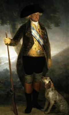 Portrait of Charles IV, King of Spain