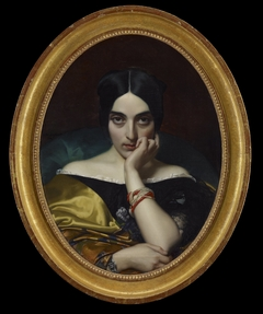 Portrait of Clmentine (Mrs. Alphonse) Karr