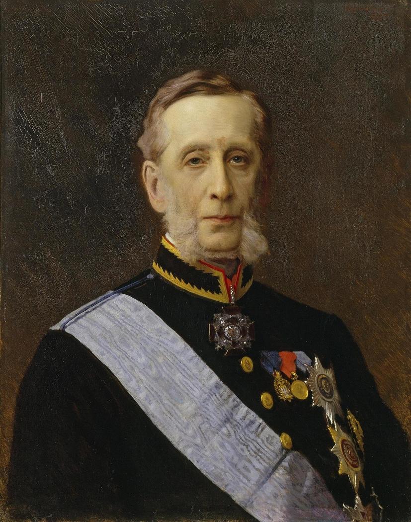"""Portrait of Count Piotr Valuyev"""