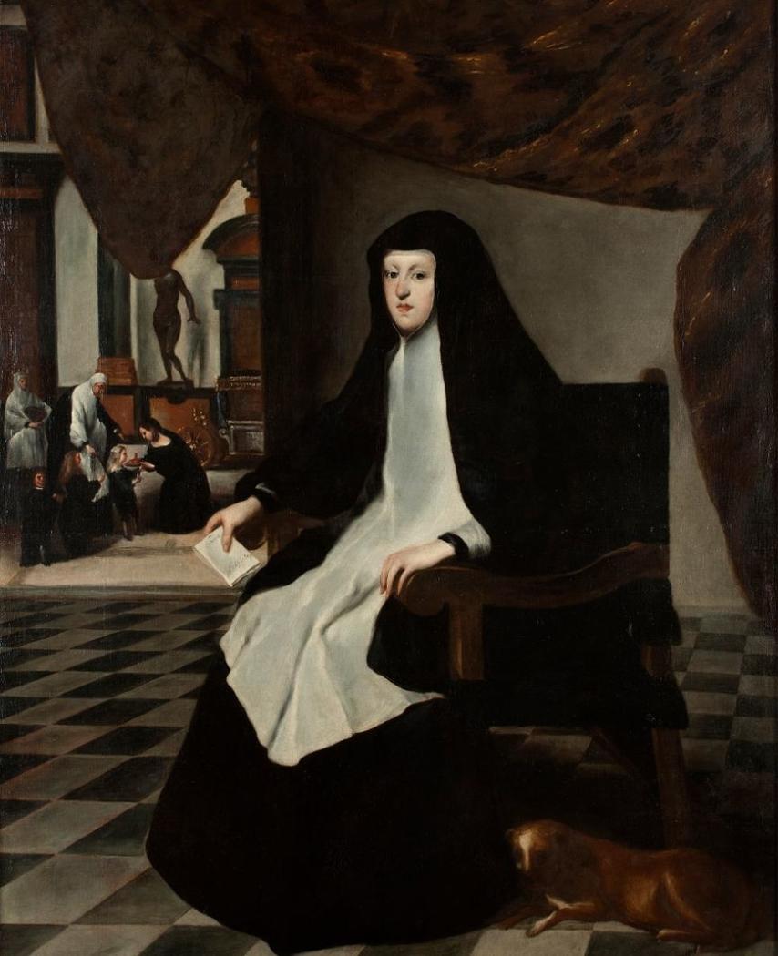 Portrait of doña Mariana de Austria