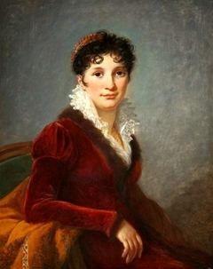 Portrait of Fanny Biron of Curland