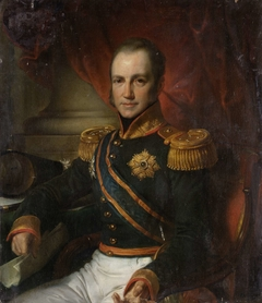 Portrait of Godart Alexander Gerard Philip, Baron van der Capellen, Governor-General of the Dutch East Indies