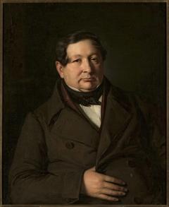Portrait of Jakub Simmler, artist's father