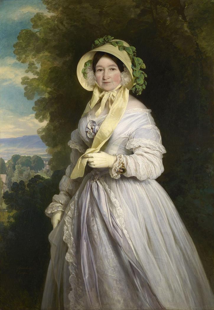 Portrait of Juliane, Princess of Saxe-Coburg-Saalfield