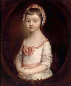 Portrait of Lady Georgiana Spencer