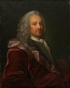Portrait of Ludvig Holberg. Copy after Johan Roselius