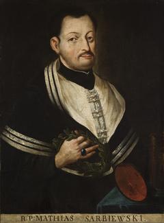 Portrait of Maciej Kazimierz Sarbiewski (1595–1640)
