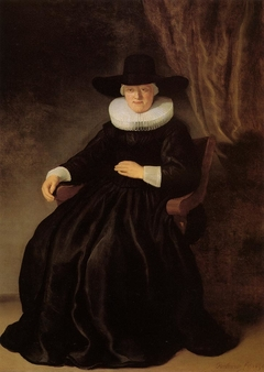 Portrait of Maria Bockenolle (Wife of Johannes Elison)
