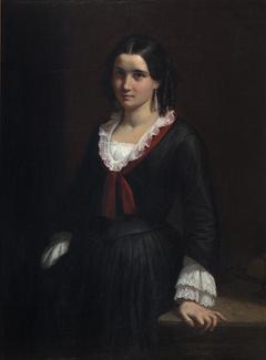 Portrait of Miss Vilhelmine (Ville) Hage