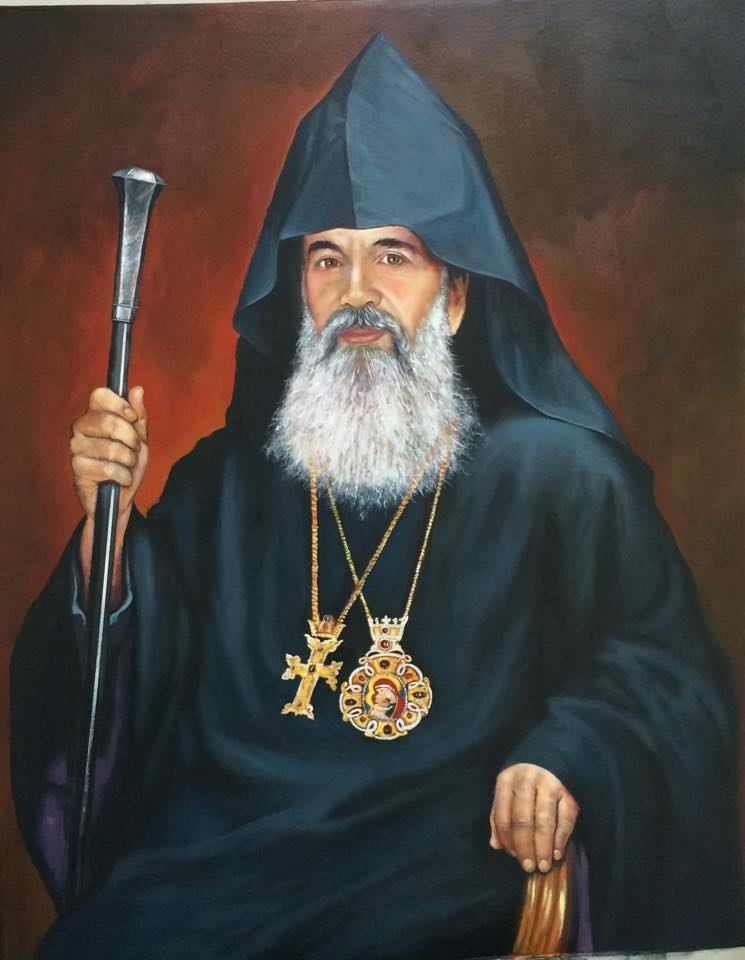 Portrait of Nareg Alemeziyan