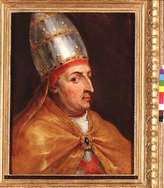 Portrait of pope Nicholas V