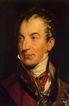 Portrait of Prince Klemens Wenzel Lothar von Metternich (1773-1859)