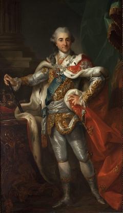 Portrait of Stanisław August Poniatowski in the coronation costume