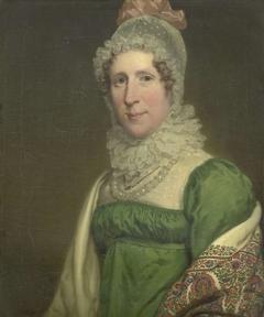 Portrait of Suzanna Maria Crommelin, Wife of Egbert Johannes Koch