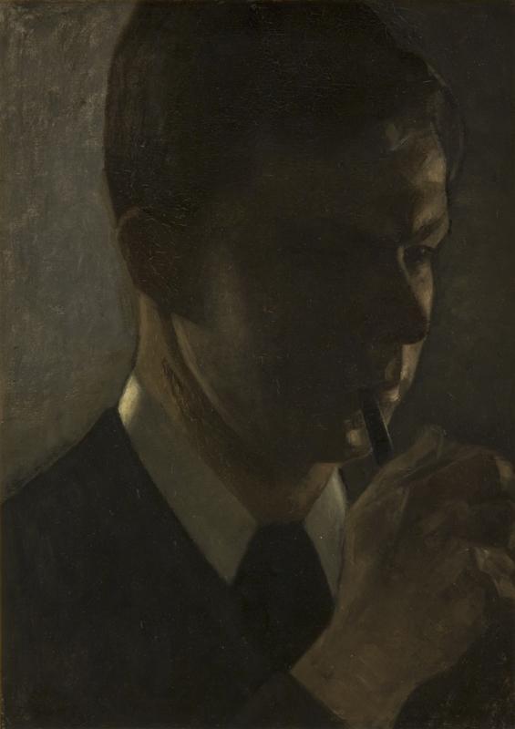 Portrait of Svend Hammershøi, the Artist´s Brother