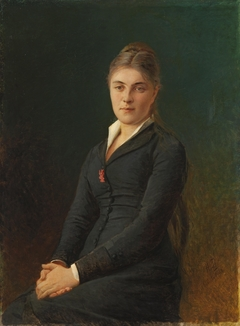 """""""Portrait of Yekaterina Ge, the Artist's Daughter-in-Law"""""""