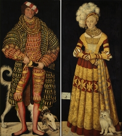 Portraits of Henry IV of Saxony and Catherine of Mecklenburg