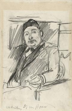 Portret van Dr. van Hoorn