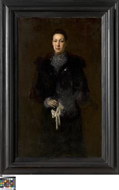 Portret van Honorine Van Hove-Velle