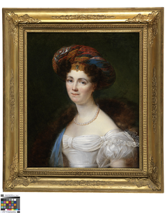 Portret van Joséphine Victoire Meslier-Duvey