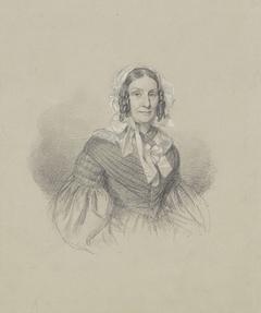 Portret van Mevrouw van Hamel