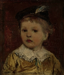 'Portret van Willem', vermoedelijk Willem Matthijs Maris Jbzn, zoon van Jacob Maris