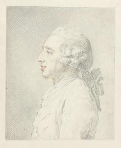 Profielportret van Louis Metayer Phzn