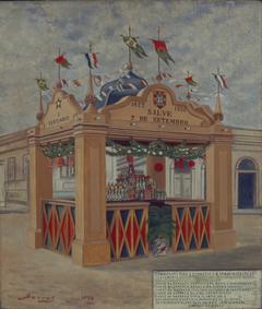 Quiosque no Cambucí, 1822