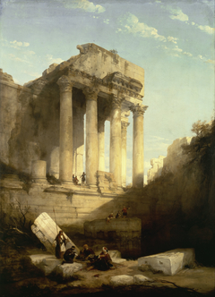 Ruins of the Temple of Bacchus