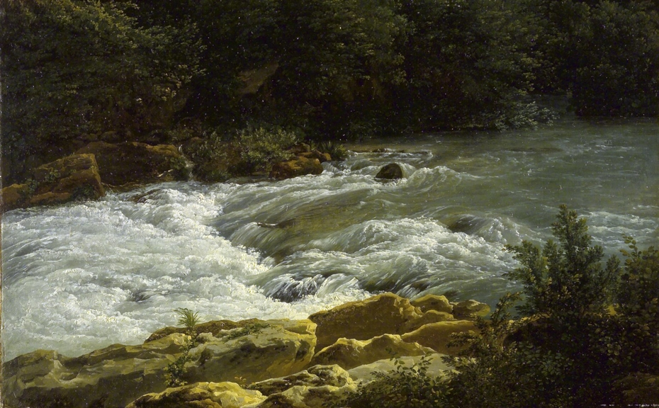 ''Running Stream at San Cosimato''