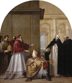Saint Bruno Refuses the Archbishopric of Reggio Calabria