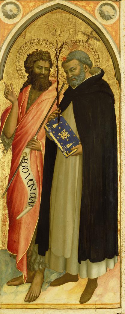 Saint John the Baptist and Saint Dominic