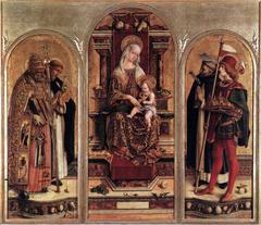 San Domenico in Camerino Polyptych