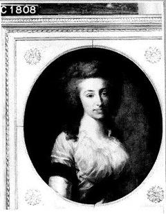 Sara Maria van Loon (1762-1805). Echtgenote van Jonkheer Nic