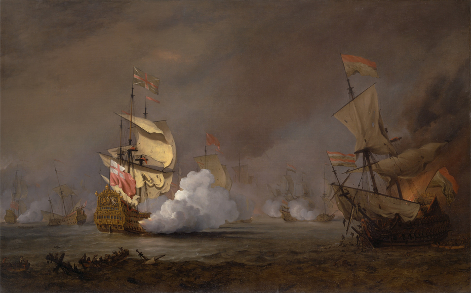 Sea Battle of the Anglo-Dutch War