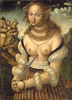 Selbstmord der Lucretia (Anonymer Meister seiner Werkstatt)