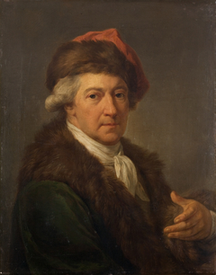 Self-Portrait in the Polish National Costume