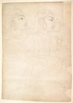 Singer and Sarinda Player