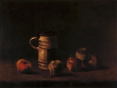 Still Life with Jug and Pears