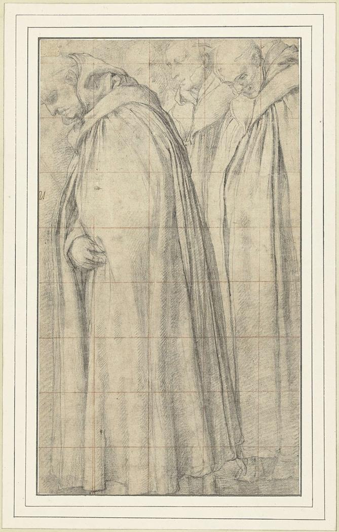Stoet van drie monniken