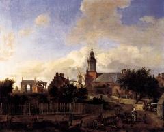 Street before the Haarlem Gate in Amsterdam